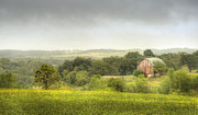 Crops Prints - Pastoral Barn Print by Scott Norris
