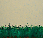 Presence Painting Originals - Pasture in Spring by Mike Brining