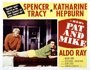 Manager Posters - Pat And Mike, Spencer Tracy, Katharine Poster by Everett