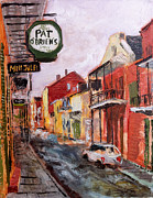 Restaurant Signs Paintings - Pat Obrians by Vincent Thibodeaux