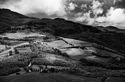 Chianti Prints - Patches Of Light Over Hills In Chianti, Tuscany Print by Philipp Klinger