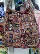 India Tapestries - Textiles - Patchwork Bag by Dinesh Rathi