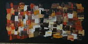 Pallet Knife Painting Originals - Patchwork  by James Johnson