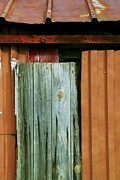 Old Shed Prints - Patchwork Print by Odd Jeppesen