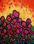 Brenda Higginson - Patchwork Poppies