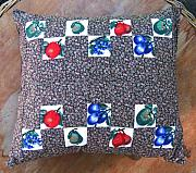 Custom Tapestries - Textiles - Patchwork Quilt 46 - Pillowcase by Eva Sandor