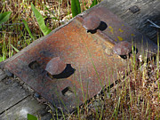 Railroad Spikes Art - PatchWork by Robert Trauth