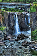 East Coast Rocks Posters - Paterson Great Falls Poster by Paul Ward