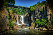 National Historic District Posters - Patersons Great Falls I Poster by David Hahn