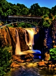 Passaic River Falls Photos - Patersons Great Falls III by David Hahn