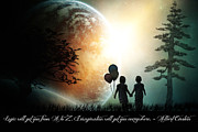 Children Digital Art Metal Prints - Path of Imagination Metal Print by Eugene James