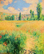 Giverny Prints - Path Saint Martin Island Print by Pg Reproductions