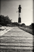 Suffolk County Metal Prints - Path to the Lighthouse Metal Print by George Oze