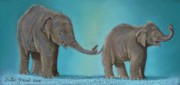 Zoo Pastels - Pathi Harns Tail by Louise Green
