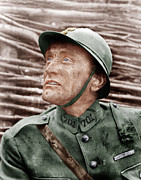 Helmet  Prints - Paths Of Glory, Kirk Douglas, 1957 Print by Everett