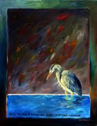 Herron Paintings - Patience by David  Maynard