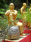Statue Acrylic Prints - Patience is Golden by Roberto Alamino
