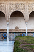 Patio Prints - Patio de los Arrayanes Print by Marion Galt