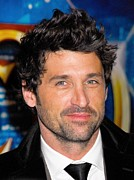 2000s Hairstyles Framed Prints - Patrick Dempsey At Arrivals Framed Print by Everett