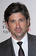 Dempsey Posters - Patrick Dempsey At Arrivals For 10th Poster by Everett