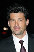 Patrick Framed Prints - Patrick Dempsey At Arrivals For Avon Framed Print by Everett