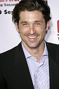 Dempsey Framed Prints - Patrick Dempsey At Arrivals For Greys Framed Print by Everett