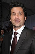 Dempsey Framed Prints - Patrick Dempsey At Arrivals For New Framed Print by Everett