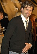 Dempsey Framed Prints - Patrick Dempsey At Arrivals For William Framed Print by Everett