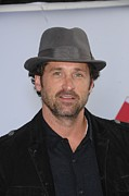 Dempsey Framed Prints - Patrick Dempsey At Arrivals For World Framed Print by Everett