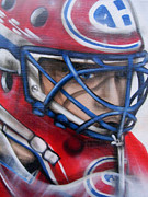 Goalie Art - Patrick Roy ... by Juergen Weiss