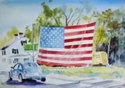 Demo Originals - Patriotic Beetle by P Anthony Visco