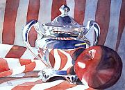 Patriotic Paintings - Patriotic Reflections by Bobbi Price