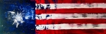 Usa Flag Mixed Media Originals - Patriots Theme by Charles Jos Biviano