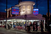Tourist Attraction Prints - Pats Steaks Print by John Greim
