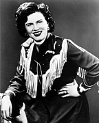 1950s Music Posters - Patsy Cline, C. 1956 Poster by Everett