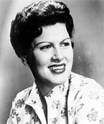 Country Music Prints - Patsy Cline, C. 1960 Print by Everett