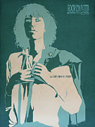 Punk Rock Music Posters - Patti Smith Poster by Nelson Garcia