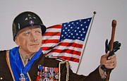 George Patton Framed Prints - Patton Framed Print by Gary Fernandez