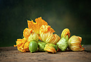Healthy Eating Art - Patty Pans by Jojo1 Photography