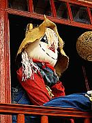 Folk Art Photos - Patzcuaro Scarecrow by Olden Mexico