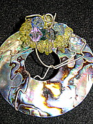 Crystals Jewelry - Paua Shell by June Adler