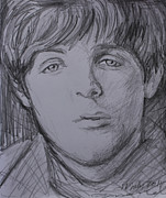 Paul Mccartney Drawings - Paul  by Amanda Li