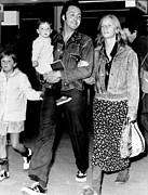 Mccartney Art - Paul And Linda Mccartney With Children by Everett