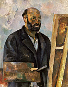 Self-portrait Photo Prints - Paul Cezanne (1839-1906) Print by Granger