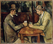 Still Life With Pitcher Art - PAUL CEZANNE The Card Players by Pg Reproductions