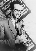 Saxophone Photos - Paul Desmond 1924-1977, Born Paul Emil by Everett