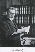 Laureates Prints - Paul Ehrlich 1854-1918, German Medical Print by Everett
