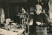 Historical Physician Framed Prints - Paul Ehrlich, German Immunologist Framed Print by Photo Researchers