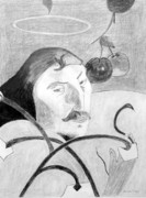 Paul Gauguin Drawings - Paul Gauguin by Jamie Frier