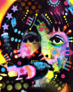 Beatles Painting Posters - Paul McCartney Poster by Dean Russo